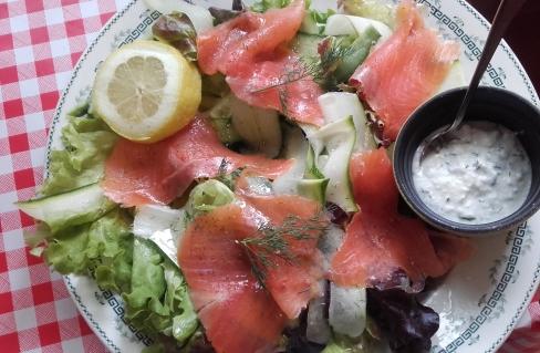 salade truite